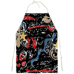 Confusion Full Print Aprons