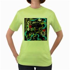 Confusion 2 Women s Green T-Shirt