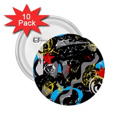 Confusion 2 2.25  Buttons (10 pack)