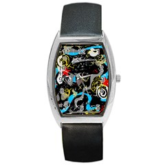 Confusion 2 Barrel Style Metal Watch