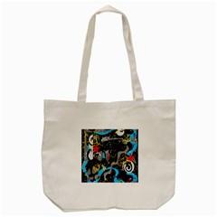 Confusion 2 Tote Bag (Cream)