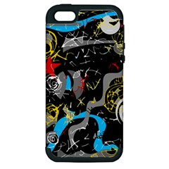 Confusion 2 Apple iPhone 5 Hardshell Case (PC+Silicone)