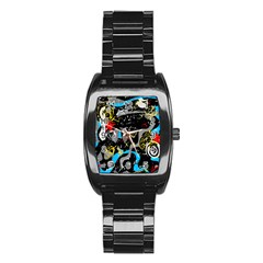 Confusion 2 Stainless Steel Barrel Watch