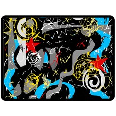 Confusion 2 Double Sided Fleece Blanket (Large)