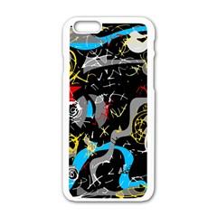 Confusion 2 Apple iPhone 6/6S White Enamel Case