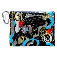 Confusion 2 Canvas Cosmetic Bag (XXL)