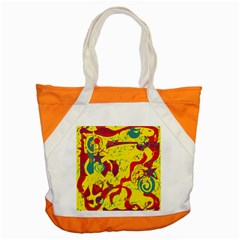 Yellow confusion Accent Tote Bag
