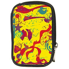 Yellow confusion Compact Camera Cases