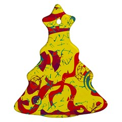 Yellow confusion Ornament (Christmas Tree)