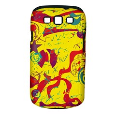 Yellow confusion Samsung Galaxy S III Classic Hardshell Case (PC+Silicone)