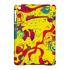 Yellow confusion Apple iPad Mini Hardshell Case (Compatible with Smart Cover)
