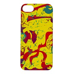 Yellow confusion Apple iPhone 5S/ SE Hardshell Case
