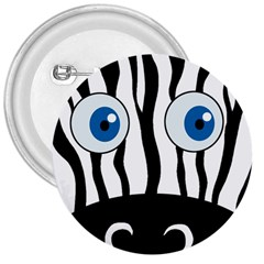 Blue eye zebra 3  Buttons