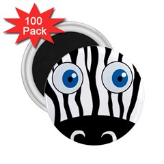 Blue eye zebra 2.25  Magnets (100 pack)