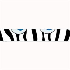 Blue eye zebra Small Bar Mats
