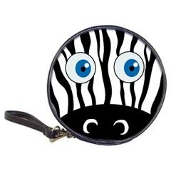 Blue eye zebra Classic 20-CD Wallets