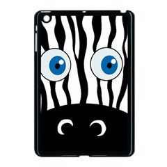 Blue eye zebra Apple iPad Mini Case (Black)