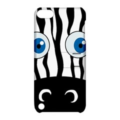 Blue eye zebra Apple iPod Touch 5 Hardshell Case with Stand