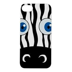 Blue eye zebra Apple iPhone 5S/ SE Hardshell Case