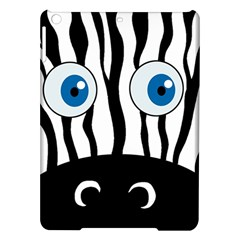 Blue eye zebra iPad Air Hardshell Cases