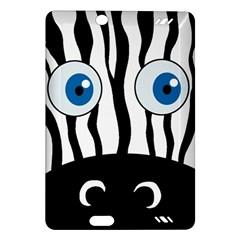 Blue eye zebra Amazon Kindle Fire HD (2013) Hardshell Case
