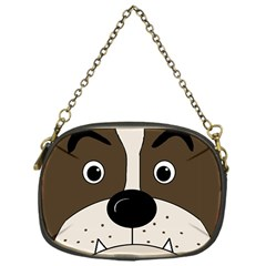 Bulldog face Chain Purses (One Side)