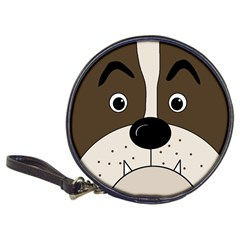 Bulldog face Classic 20-CD Wallets