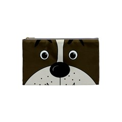 Bulldog face Cosmetic Bag (Small)