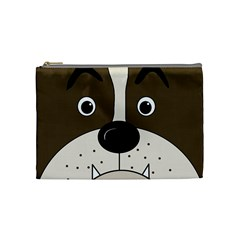 Bulldog face Cosmetic Bag (Medium)