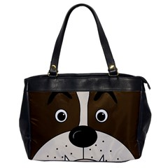 Bulldog face Office Handbags