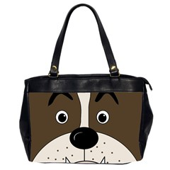 Bulldog face Office Handbags (2 Sides)