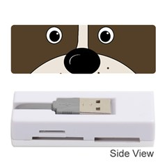 Bulldog face Memory Card Reader (Stick)