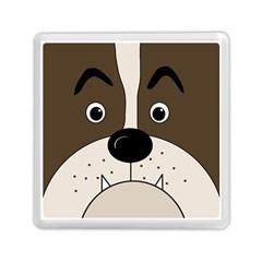 Bulldog face Memory Card Reader (Square)