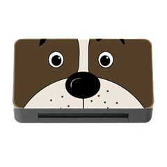 Bulldog face Memory Card Reader with CF