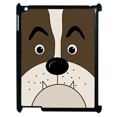 Bulldog face Apple iPad 2 Case (Black)