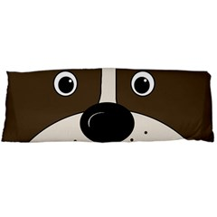 Bulldog face Body Pillow Case Dakimakura (Two Sides)