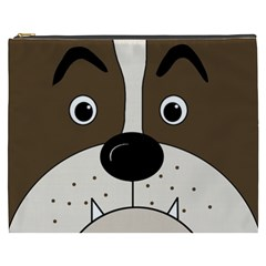 Bulldog face Cosmetic Bag (XXXL)