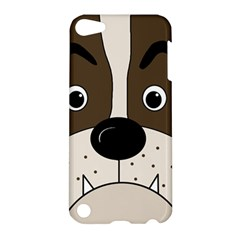 Bulldog face Apple iPod Touch 5 Hardshell Case