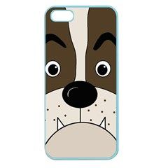 Bulldog face Apple Seamless iPhone 5 Case (Color)