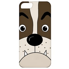 Bulldog face Apple iPhone 5 Classic Hardshell Case
