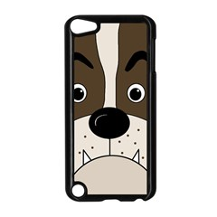 Bulldog face Apple iPod Touch 5 Case (Black)