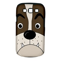 Bulldog face Samsung Galaxy S III Classic Hardshell Case (PC+Silicone)