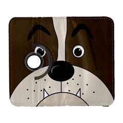 Bulldog face Galaxy S3 (Flip/Folio)