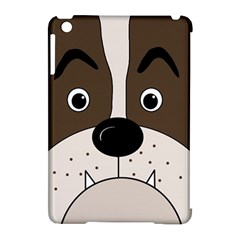 Bulldog face Apple iPad Mini Hardshell Case (Compatible with Smart Cover)