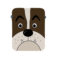 Bulldog face Apple iPad 2/3/4 Protective Soft Cases