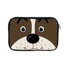 Bulldog face Apple iPad Mini Zipper Cases