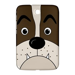 Bulldog face Samsung Galaxy Note 8.0 N5100 Hardshell Case