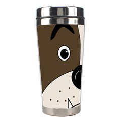 Bulldog face Stainless Steel Travel Tumblers