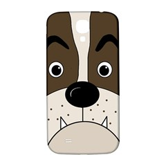 Bulldog face Samsung Galaxy S4 I9500/I9505  Hardshell Back Case