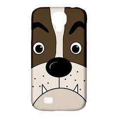 Bulldog face Samsung Galaxy S4 Classic Hardshell Case (PC+Silicone)
